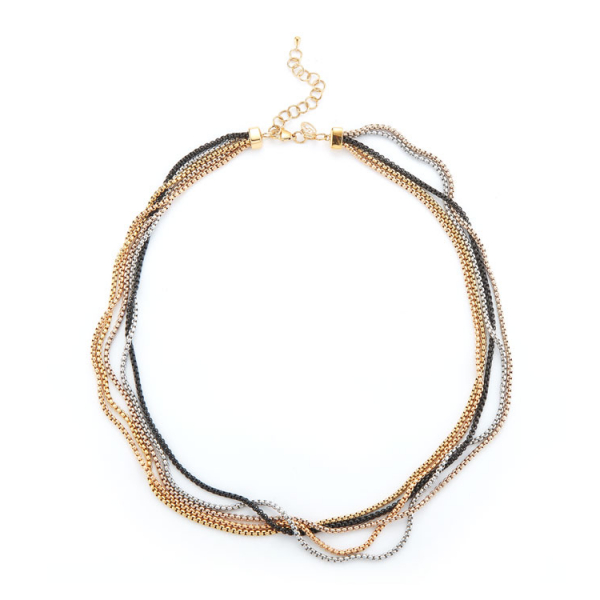 Chain Reaction Multi-Strand Necklace by ALOR
