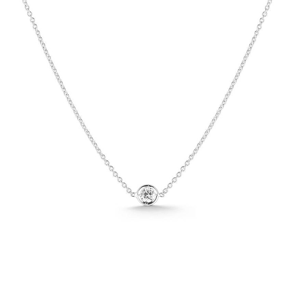 Tiny Solitaire Necklace by Roberto Coin