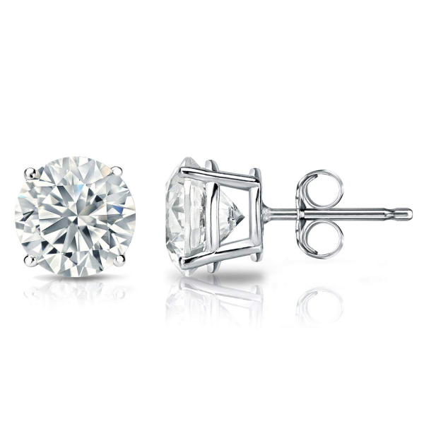 2.04 Carat Diamond Stud Earrings by Jae
