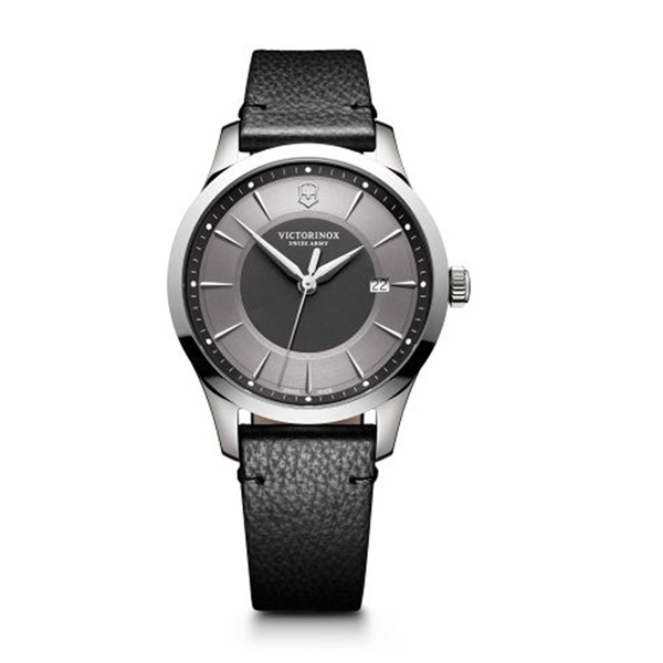 Black Leather Alliance 40mm by Swiss Army