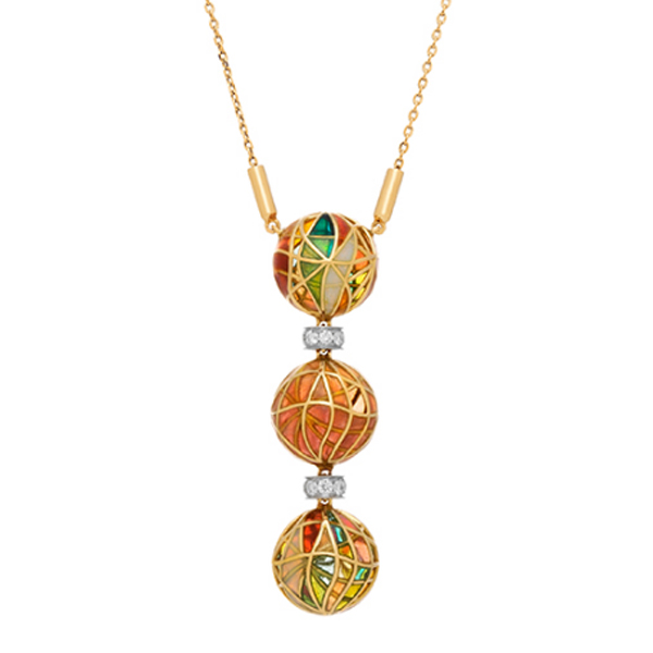 Collage Sphere Necklace by Masriera