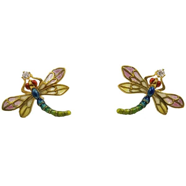 Dragonfly Earrings by Masriera