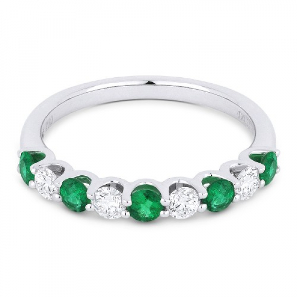 Emerald & Diamond Band by Madison L.