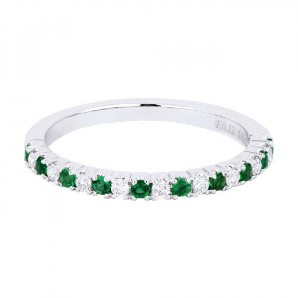 Emerald & Diamond Stack Band by Madison L.