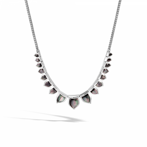 Grey Mother of Pearl Necklace by John Hardy