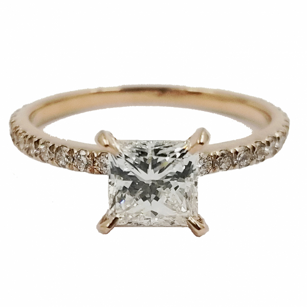 Princess Cut Diamond Ring by Jae