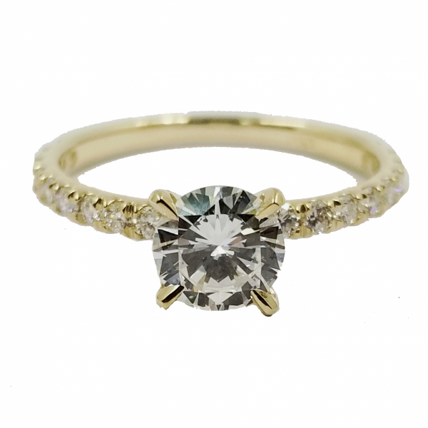 Yellow Gold Diamond Ring  by Jae