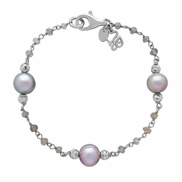 After Dark Pearl Bracelet by Honora