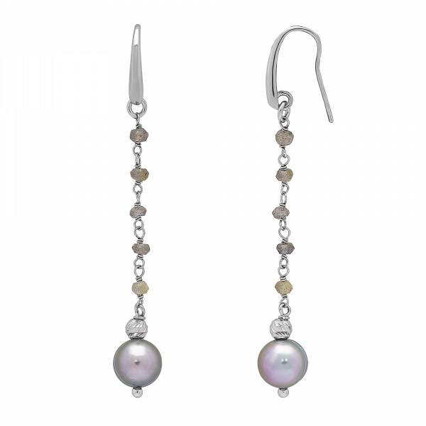 After Dark Drop Earrings by Honora