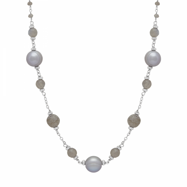 After Dark Pearl Necklace by Honora